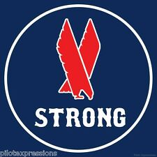 """American Eagle Airlines Unity Sticker """"Eagle Strong"""""""