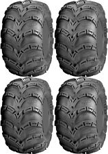 Four 4 ITP Mud Lite AT ATV Tires Set 2 Front 24x8-11 & 2 Rear 25x10-12 MudLite