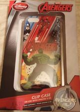 Disney Store Marvel Avengers iPhone 5 / 5S Clip Case Screen Guard and Cloth New