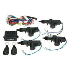 Universal Car Central Door Lock Auto Locking Keyless Entry System Kit 4 door 12V