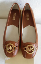 New Michael Kors Fulton brown leather shoes.US9.5.RT$99.