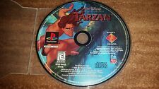 TARZAN WALT DISNEY BLACK LABEL PLAYSTATION 1 PS1 EX CONDITION*