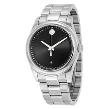 Movado Sportivo Black Museum Dial Mens Watch 0606481