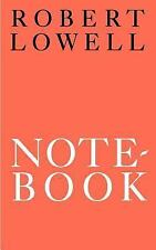 Notebook by Robert Lowell (1995, Paperback)