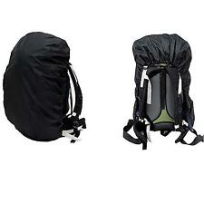 Chic Outdoor Camping Hiking Black Nylon Waterproof Rainproof Backpack Bag Cover