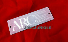 ARC Toyota Lexus Badge Plate TRD MR2 MRS Supra FRS IS300 ISF IS250 IS350 86