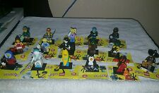 LEGO Series 16 Complete set of 16 minifigures New 2016 Summer complete