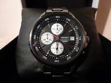 My Seiko  Mens Chronograph Wristwatch  with Box  Orig. Cost £230  Works well £99