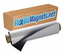 """2 Rolls of White Blank Magnet 24"""" wide x 10' long - 30 mil thick."""