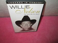 WILLIE NELSON - LEGENDS IN CONCERT very rare Footage dvd Country 17 songs videos