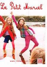 PUBLICITE ADVERTISING 045  2014  LITTLE MARCEL  mode vetements enfants