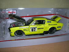 MAISTO 1967 Ford Mustang GT Custom shop, 1:24 Dragster CUSTOM CAR