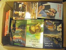 lot de 170  livres Nous deux Littérature sentimentale style Harlequin
