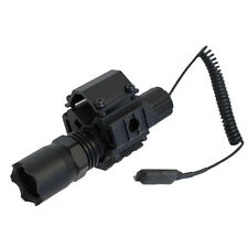 Tactical Tri Rail Mount + LED Strobe Flashlight Fits Maverick 88 Winchester 1300