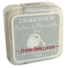 Durance en Provence French Grasse MILK Savon de Marseille Triple-Milled Soap New