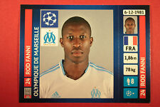 PANINI CHAMPIONS LEAGUE 2013/14 N. 420 FANNI O. MARSEILLE BLACK BACK MINT!