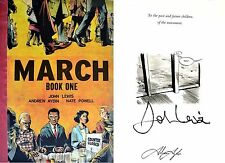 U.S. Congressman John Lewis~SIGNED 2X~March: Book One~1st Edition + Photos! MLK