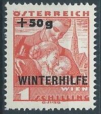 1935 AUSTRIA SOCCORSO INVERNALE WINTERHILFE 1S+50G MH * - A105