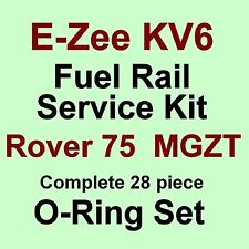 A* BEST KV6 Fuel Rail Seals -The Full Set VITON O Rings for Rover 75 & MG ZT V6
