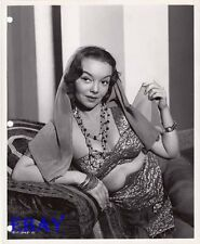 Gloria Saunders busty harem girl VINTAGE Photo Prisoners Of The Casbah