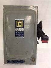 SQUARE-D * 30A 600VAC SAFETY SWITCH SER.A2 * H361A