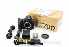 "Nikon D700 12.1MP DSLR Camera Body Only, F Mount Boxed ""Low Shutter"""