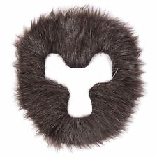 Mens Womens Unisex Gorilla / Werewolf Hair Halloween Fancy Dress Face Mask