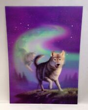 Lobo 3d Lenticular Foto Animal Cartel Pintura Decoración De Pared De Imagen Fotográfica