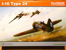 Eduard Profipack 1:48 I-16 Type 24 Soviet Aircraft Model Kit