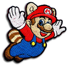 Super Mario Patch Iron on Cute Gifts Motif Kids Sew Craft Game Applique Retro