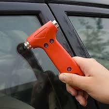 Car Emergency Hammer - Safety Escape / Glass Window Breaker / Seat Belt Cutter.