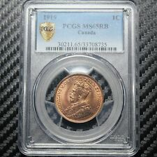 1919 Canada Large Cent PCGS MS65 RB (08735)