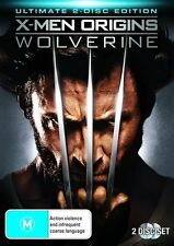 X-Men Origins - Wolverine (DVD, 2009, 2-Disc Set)**R4**Like New*