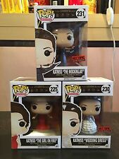 Funko POP The Hunger Game Katniss- Set of 3
