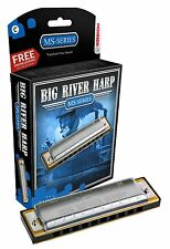 NEW Hohner 590BX-C System Big River Harp Diatonic Harmonica, Key of C