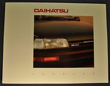 1989 Daihatsu 16 Valve Charade Sales Brochure Folder Excellent Original 89