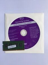 New Sealed Dell Windows 10 Pro Recovery Restore DVD 64 BIT w/ Memory Opt