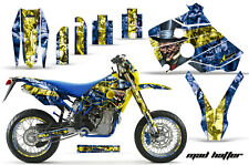 AMR Racing Husaberg FS/FE 400-650 Number Plate Graphic Kit Bike Decal 01-05 MH Y