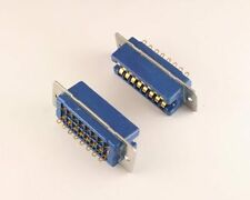 26 Series 16 Pin Contact Rack and Panel Blue Ribbon Connector Recpetacle WirePro