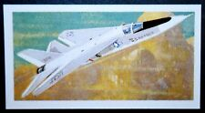 USAF    F111 A  AARDVARK  Variable Wing Bomber  1960's Vintage Card  #  EXC