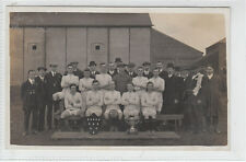 Frodsham AFC Football Club 1913 Team Photo Real Photograph Atherton Old Postcard