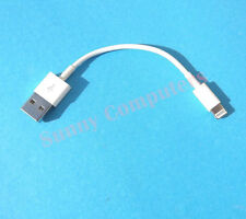 2x Short USB Data Sync Charger Cable For iPhone 6 6+ iPod Touch5 Nano7 iPad Air