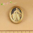 1:12 Dollhouse Miniature Victoria noblewoman oval framed picture  60001-8