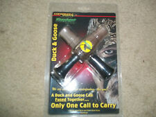 Cherokee Sports Fusion Duck & Goose Call fused together only one call  New
