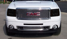 07-13 GMC Sierra Truck GTS Smoke Acrylic Headlight Covers Protection Pr GT0839S