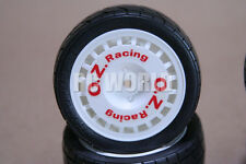 RC 1/10 CAR TIRES WHEELS RIMS Package O.Z RACING TOYOTA CELICA WRC   *NEW*