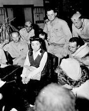 "New 8x10 World War II Photo: Interview of ""Tokyo Rose"" Iva Toguri, 1945"