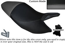 BLACK & GREY CUSTOM FITS HONDA HORNET CB 600 F 03-06 DUAL SEAT COVER