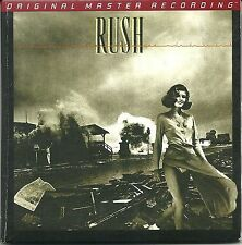 Rush Permanent Wave MFSL Gold CD UDCD 772 Mini LP Style Limited Edition Nummerie