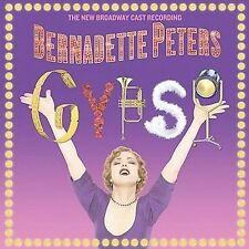 Gypsy [Broadway Cast] by Bernadette Peters (PROMO CD & PAPER SLEEVE ONLY)
